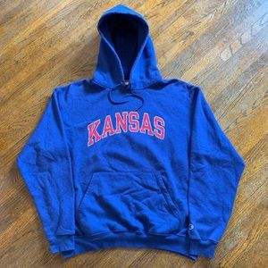 University of Kansas Champion Hoodie